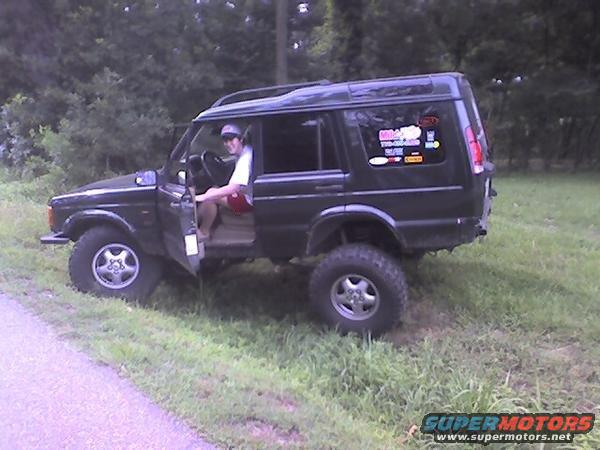 2000 Land Rover Discovery II, Rovertym lift, 35's, winch ...