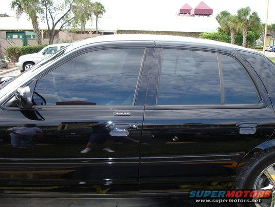 Pic Request Blacked Out Window Chrome Mercurymarauder