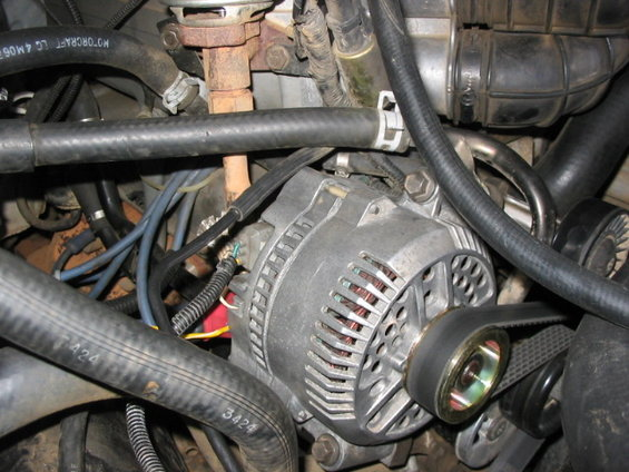Tension Pulley Wont Move : Another pulley question ford bronco forum