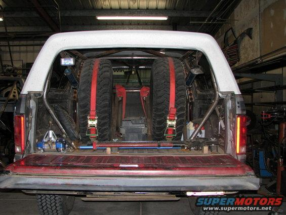 fabtech spare tire carrier ford bronco forum