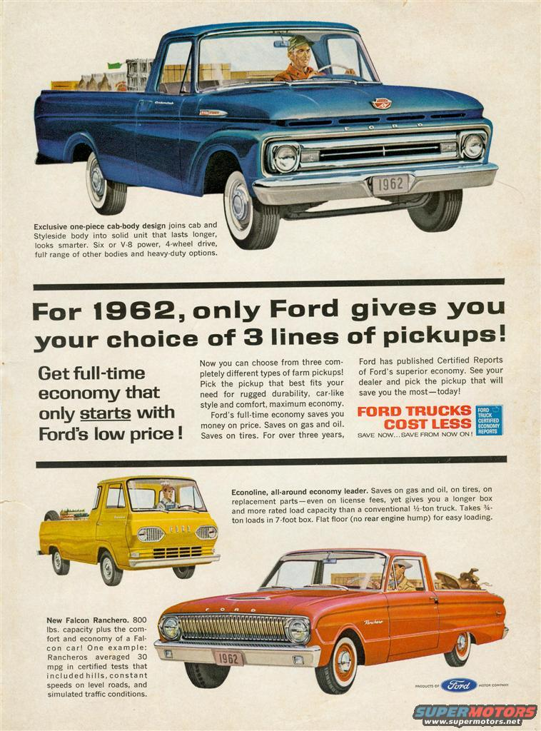 1966 Ford F-100 Old Ford Ads picture | SuperMotors.net