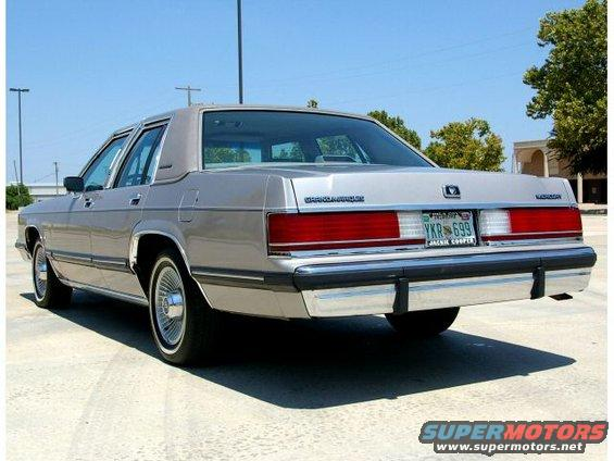 1991 Mercury Grand Marquis My Pictures picture  SuperMotorsnet