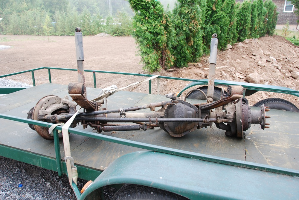 1979 Ford Dana 60 Front Axle For Autos Post