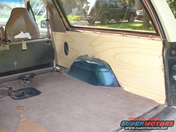1995 Ford Bronco Rear Cargo Interior Panels Pictures Videos And Sounds