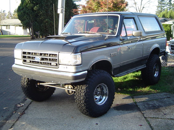1989 Ford Bronco pictures photos videos and sounds