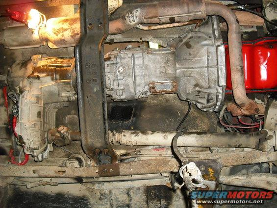 Fantastic Aod To Zf Small Block Pics Ford Bronco Forum Wiring Cloud Usnesfoxcilixyz