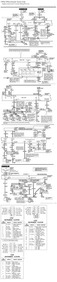 1996 mercury grand marquis panther instrument cluster schematics and pinouts picture. Black Bedroom Furniture Sets. Home Design Ideas