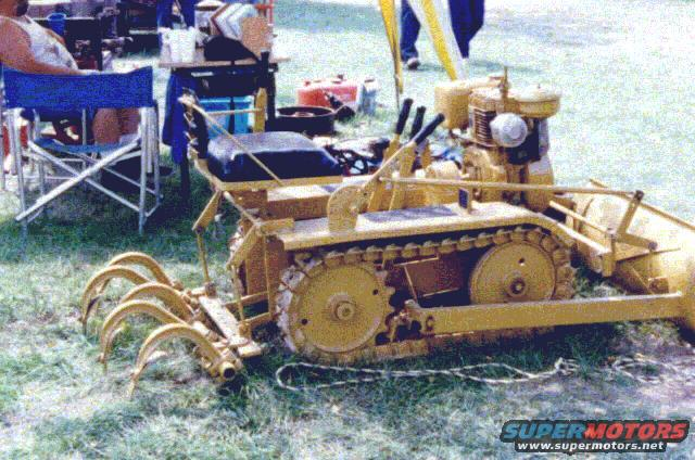 For 40 years, author Clell Ballard has used a Struck Mini-Dozer to clear his