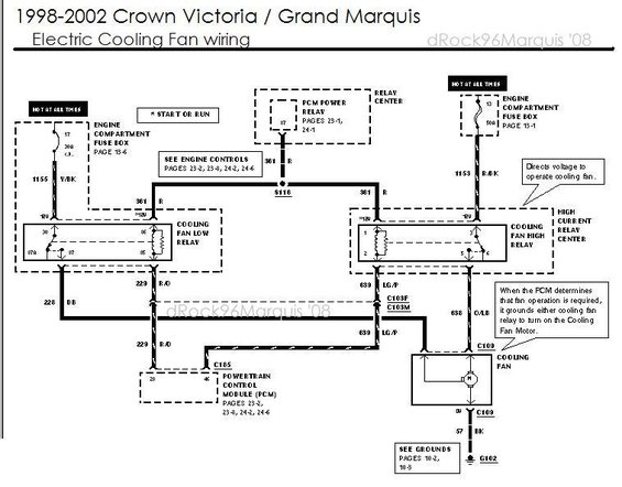 1996 mercury grand marquis panther electronic engine ... wiring diagram 95 mercury grand marquis #6