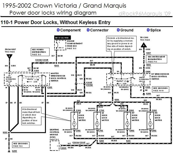 wiring diagram 95 mercury grand marquis 1996 mercury grand marquis panther body/chassis/misc ... #5