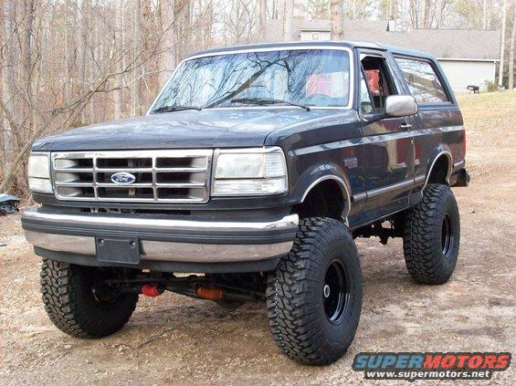 1992 Ford Bronco 37 S Picture Supermotors Net