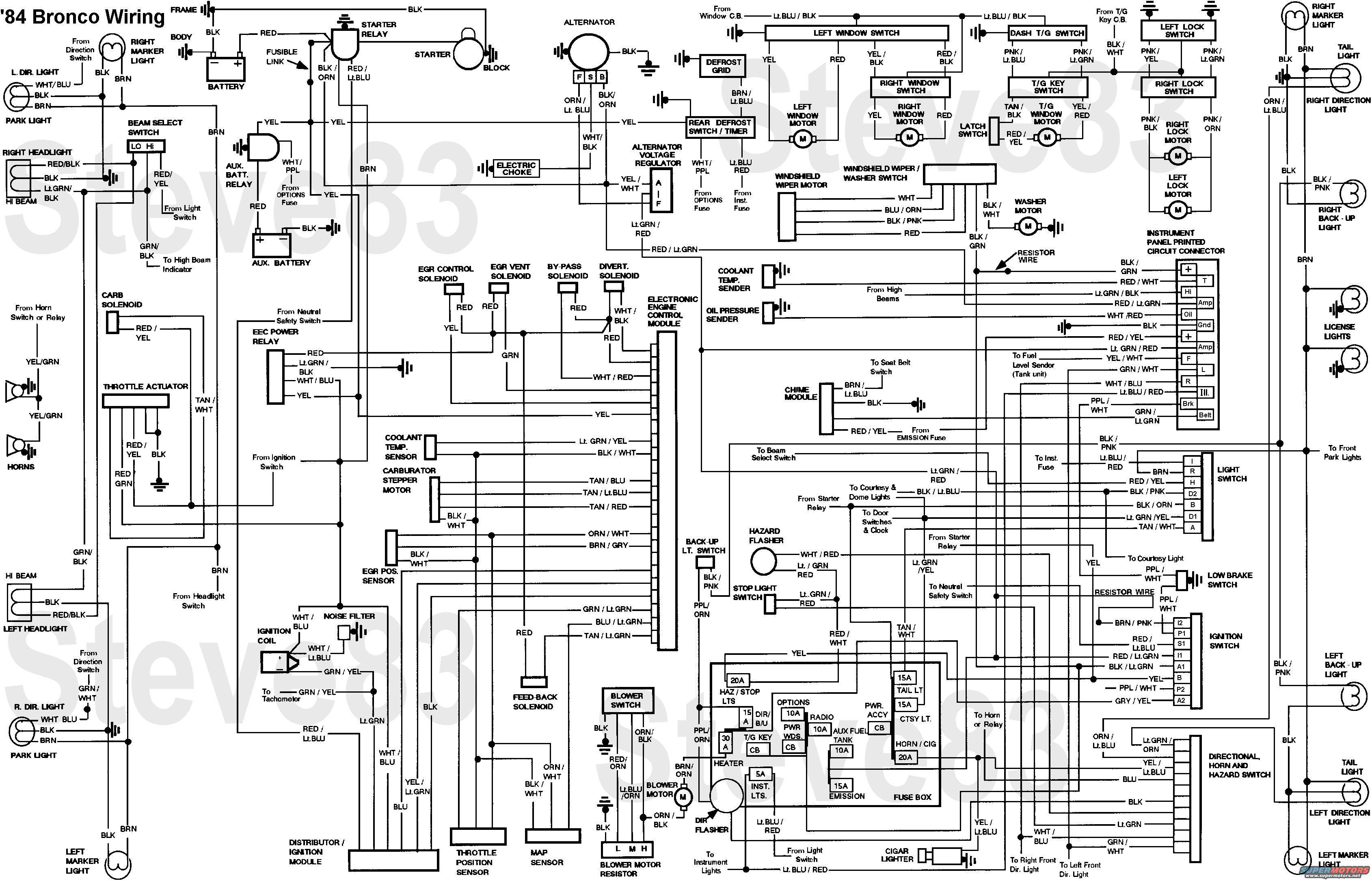 Wiring Diagram For 79 Ford Bronco