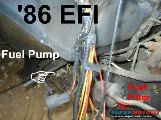 86 efi fp alt= 1983 ford bronco '84 89 fuel reservoirs pictures, videos, and,Wiring Diagram Fuel Pump 1986 Ford Ranger 2 9
