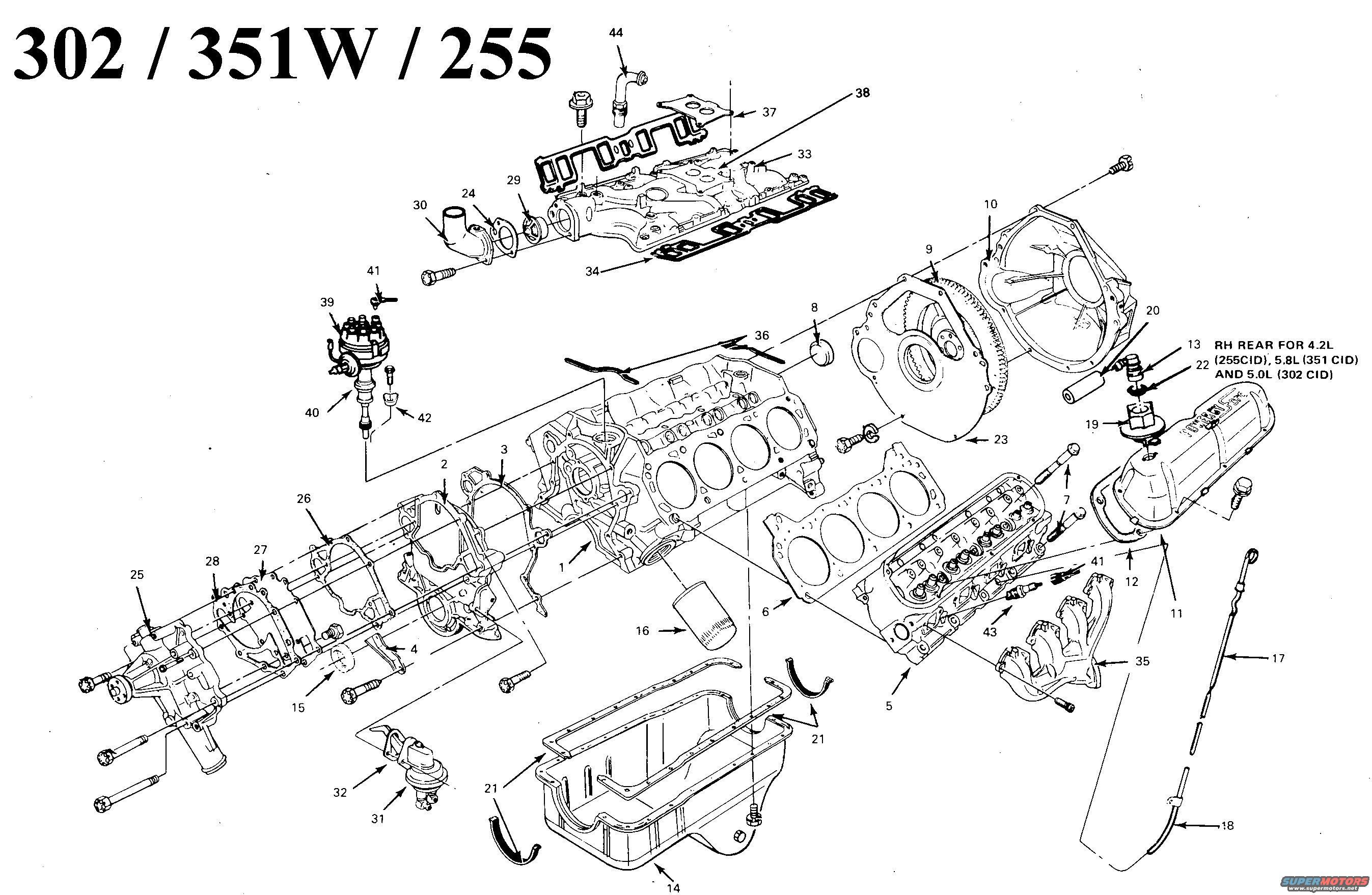 1989 ford bronco engine diagram 1989 ford aerostar engine