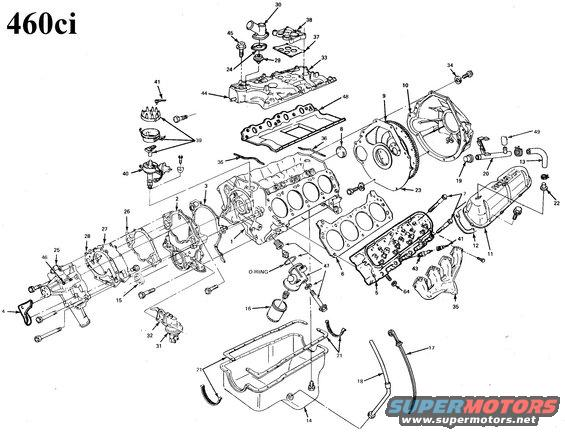 460 7 5 1994 ford engine diagram