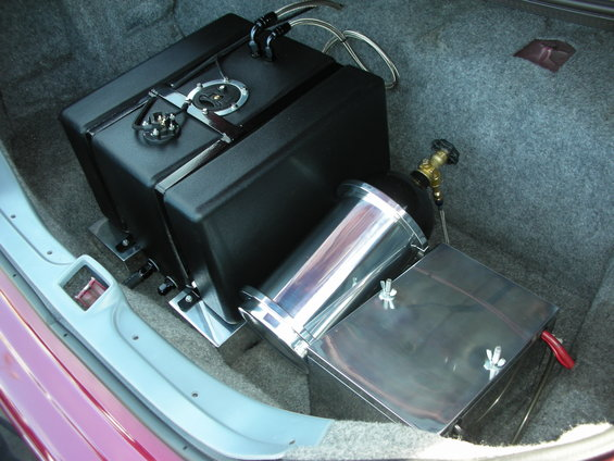 Putting a fuel cell in the trunk? | Modular High Performance