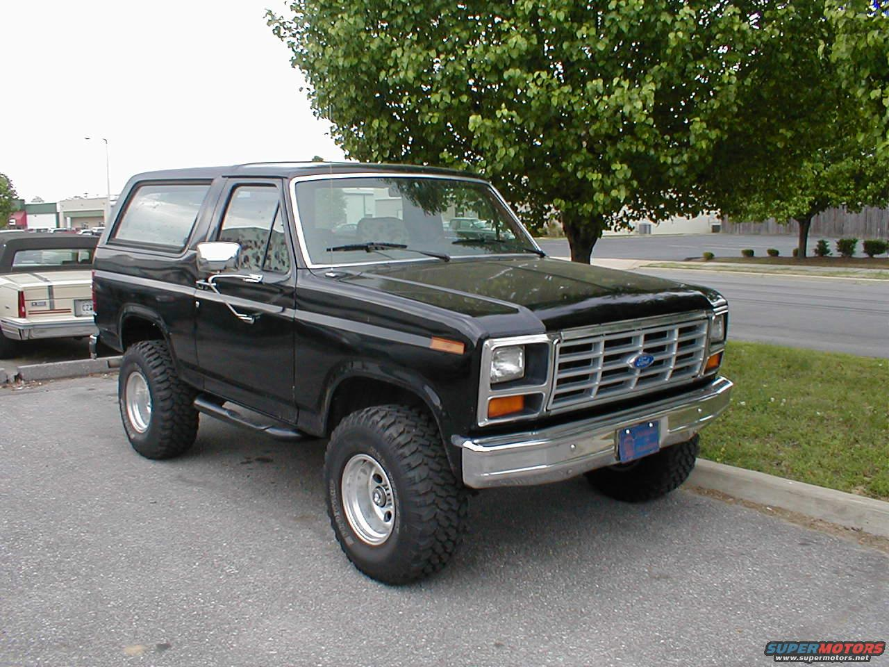 1983 Ford bronco picture gallery