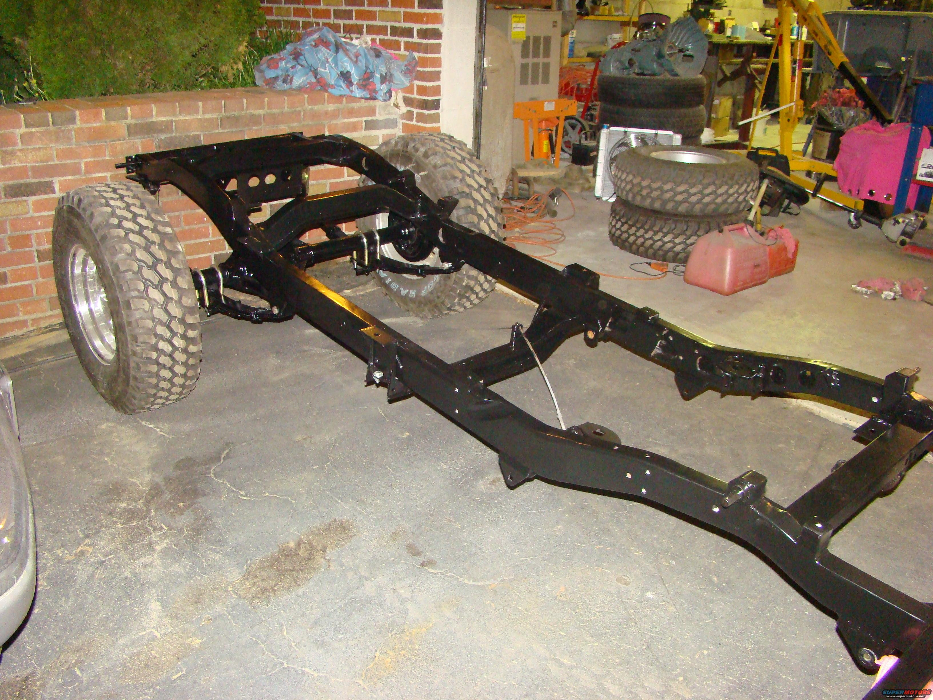 1948 Jeep Wrangler Frame work picture | SuperMotors.net