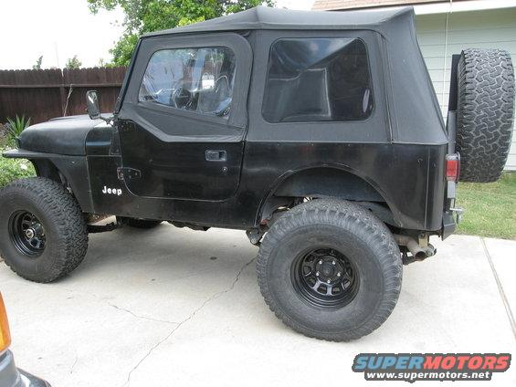 My YJ Top and YJ Half Doors and Upper Doors fits my CJ just fine & Jeep cj7/yj top and doors questions... a few - Pirate4x4.Com : 4x4 ...