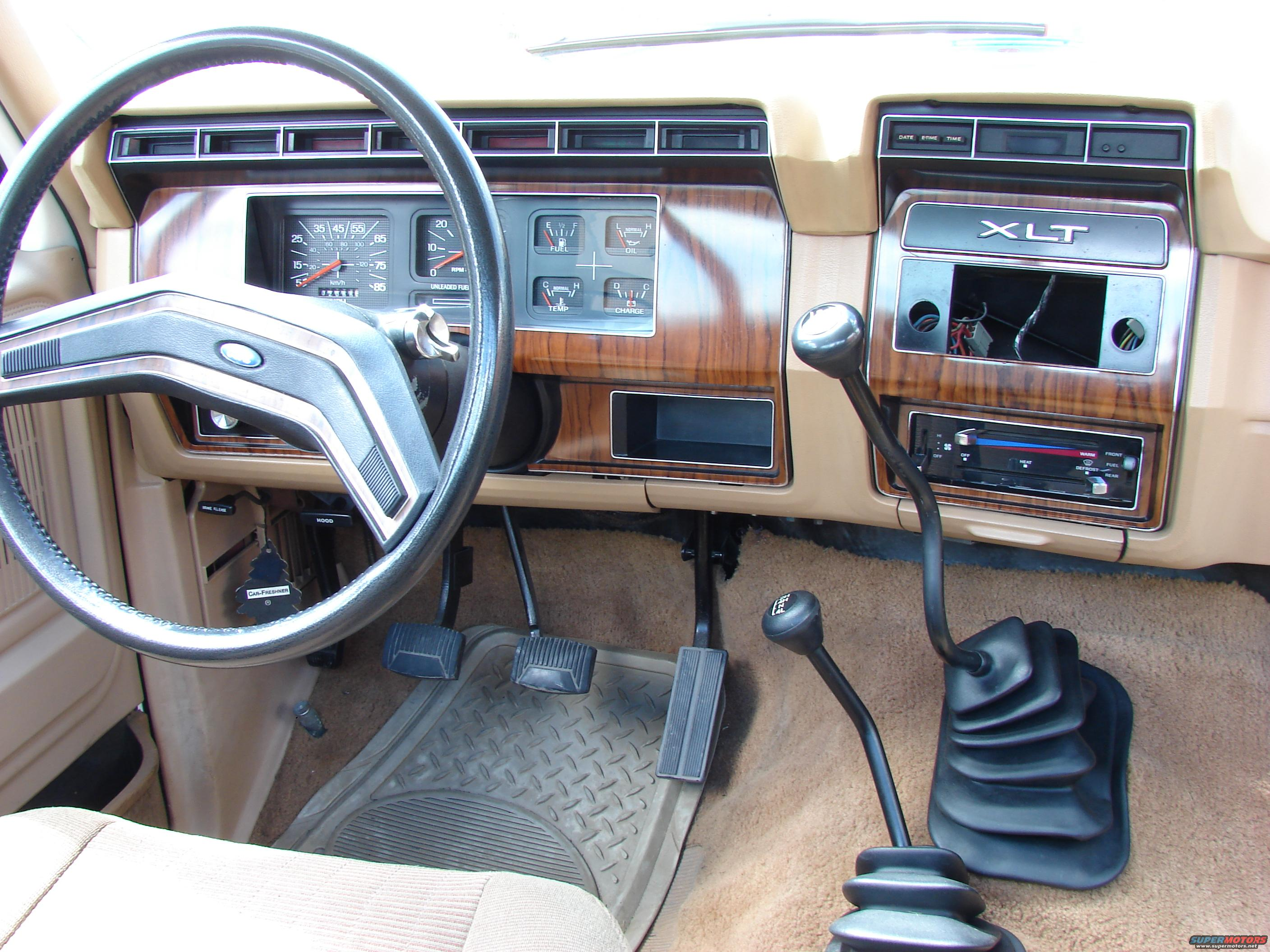 1984 Ford F 250 Interior Picture Supermotors Net