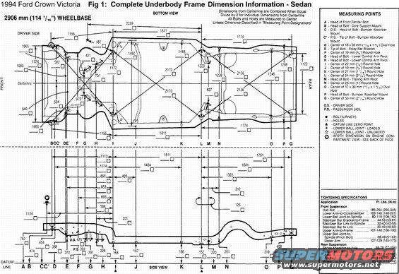 1996 Ford Crown Victoria Frame Picture Supermotors Net
