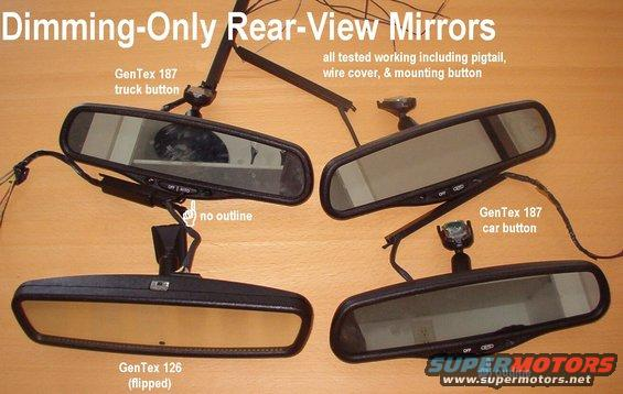 Car Stereo Wiring Harness 2006 Mitsubishi Lancer additionally Gm Onstar Rear View Mirror Harness Diagram as well Nissan Rear View Mirror Wiring Diagram as well Rear View Mirror Not Working further Gentex Mirror Schematic. on donnelly rear view mirror wiring diagram
