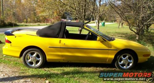 Convertible Ford Probe Its Not Very Often That You See A