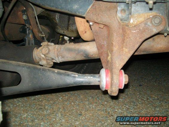 replacing radius arm bushings- shop needed? - Ford Bronco Forum