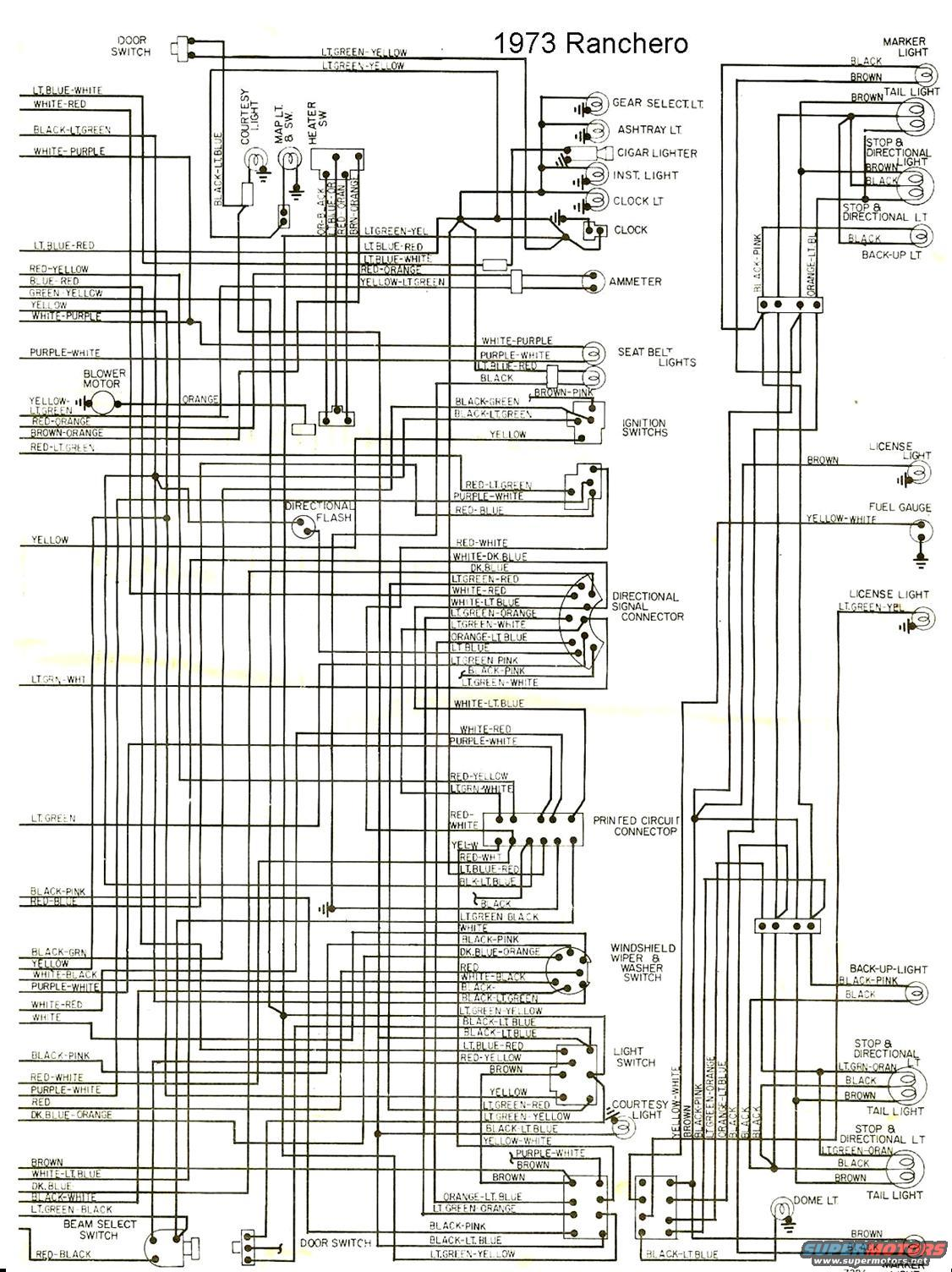 1973 ford ranchero wiring diagram | the site share images ... 1970 ford ranchero wiring diagram