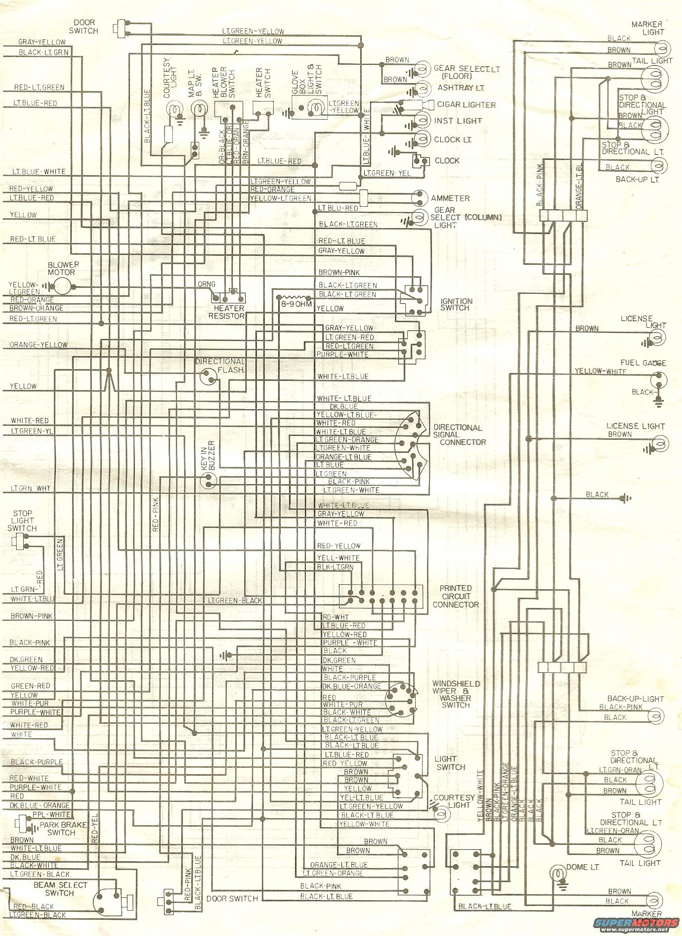 1976 ranchero wiring b 72 '76 wiring diagrams ranchero us 1976 ford torino wiring diagram at bakdesigns.co