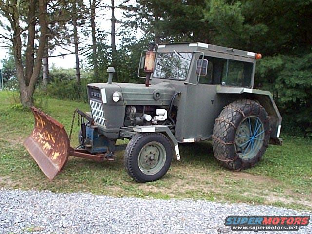 Ford Tractor Airplane : Interesting air force ford tractor on ebay forum