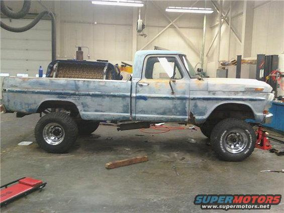 53_1971 Ford F100 - Project Offroad Menace