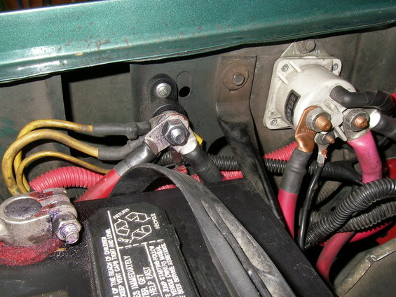 battery ground wiring upgrade help ford bronco forum here is the charge power distribution schematic for my 1990 bronco note the three yellow wires are always hot