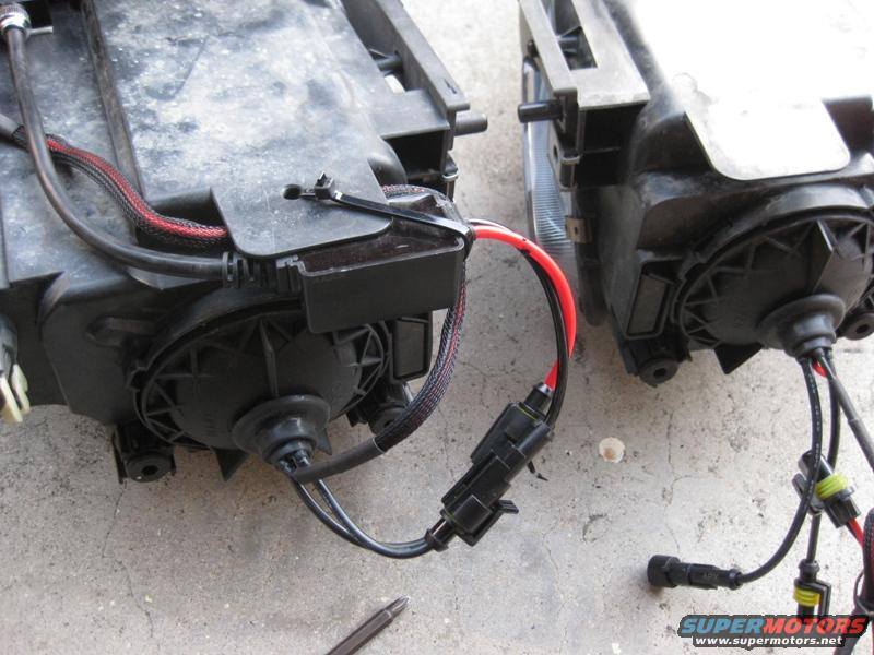 6 this is how you install aftermarket hid's cleanly on a mazda 6 p 2009 mazda 6 headlight wiring harness at suagrazia.org