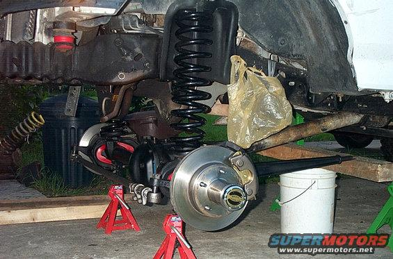 1995 Ford Bronco Spindle : Ford bronco solid axle picture supermotors