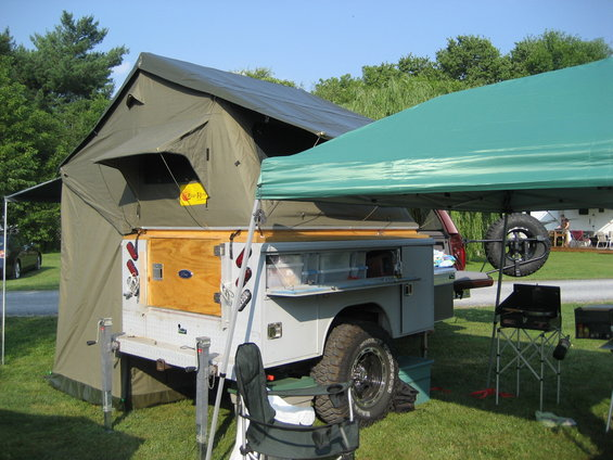 And since it always getu0027s asked the utility bed is all Aluminum and weighs in at about 375 empty (sans frame/tent/etc.) & show us your truck bed trailers - Expedition Portal