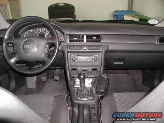 2003 Audi A6 Interior Picture Supermotors Net