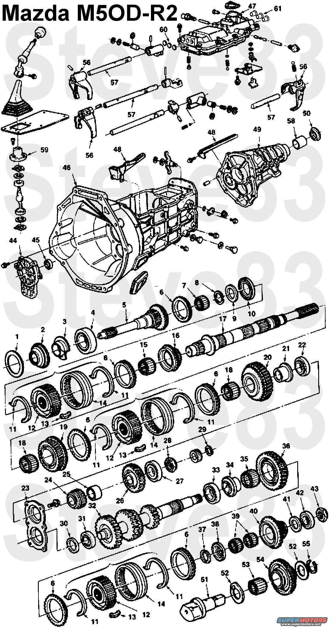 Borg Warner T5 Transmission Diagram also Diagrams 40 41 further Watch besides NP435 Manual Transmission together with 1994 95 96 97 98 99 00 01 02 03 2004. on ford standard transmission diagrams