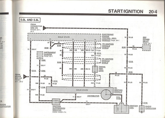 ignition control module confusion page 2 ford bronco forum. Black Bedroom Furniture Sets. Home Design Ideas
