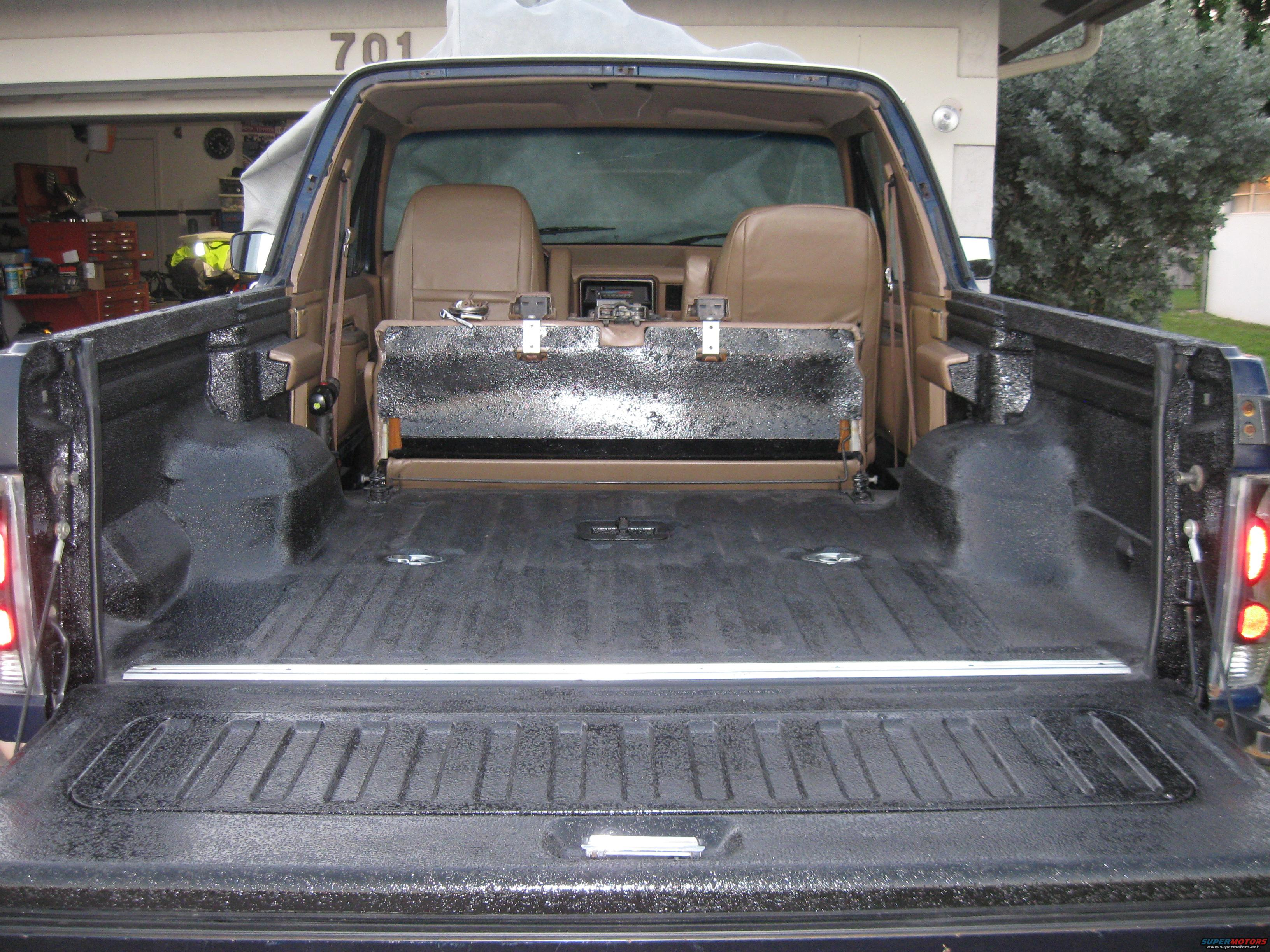 paint off prep diy bed img s bumper u winch road jeep toyota paints liner and