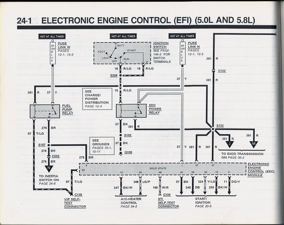 1990 bronco fpr and eec relay fuel pump wiring shorting out ford bronco forum 1990 f150 fuel pump wiring diagram at edmiracle.co