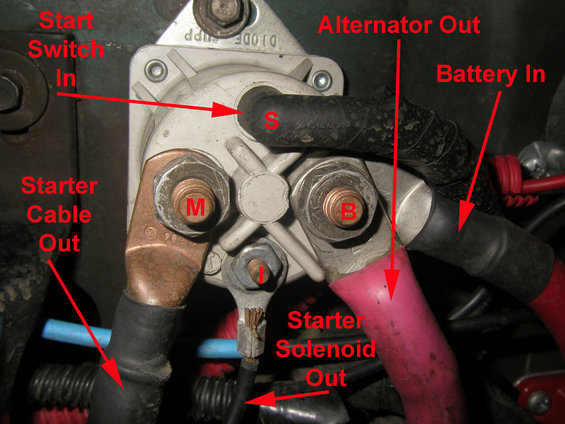 Mgb Alternator Wiring Diagram : New starter problem ford bronco forum