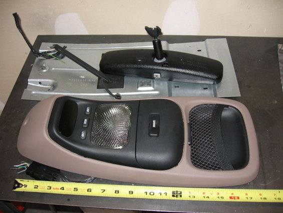 92 W Overhead Console Ford Bronco Forum