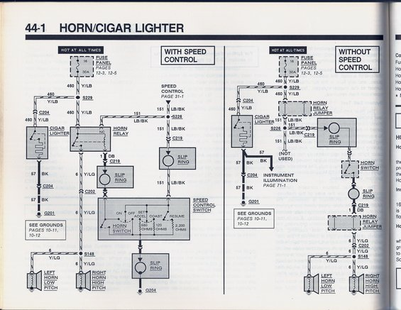 horn wiring - ford truck enthusiasts forums  ford truck enthusiasts