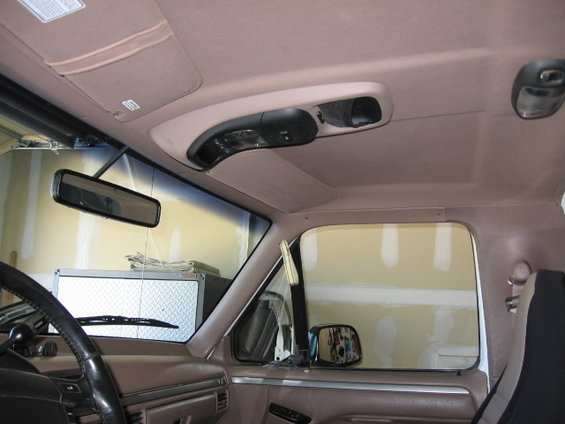 ford explorer overhead console wiring explorer overhead console install page 8 ford bronco forum 1999 ford f 150 overhead console wiring diagram