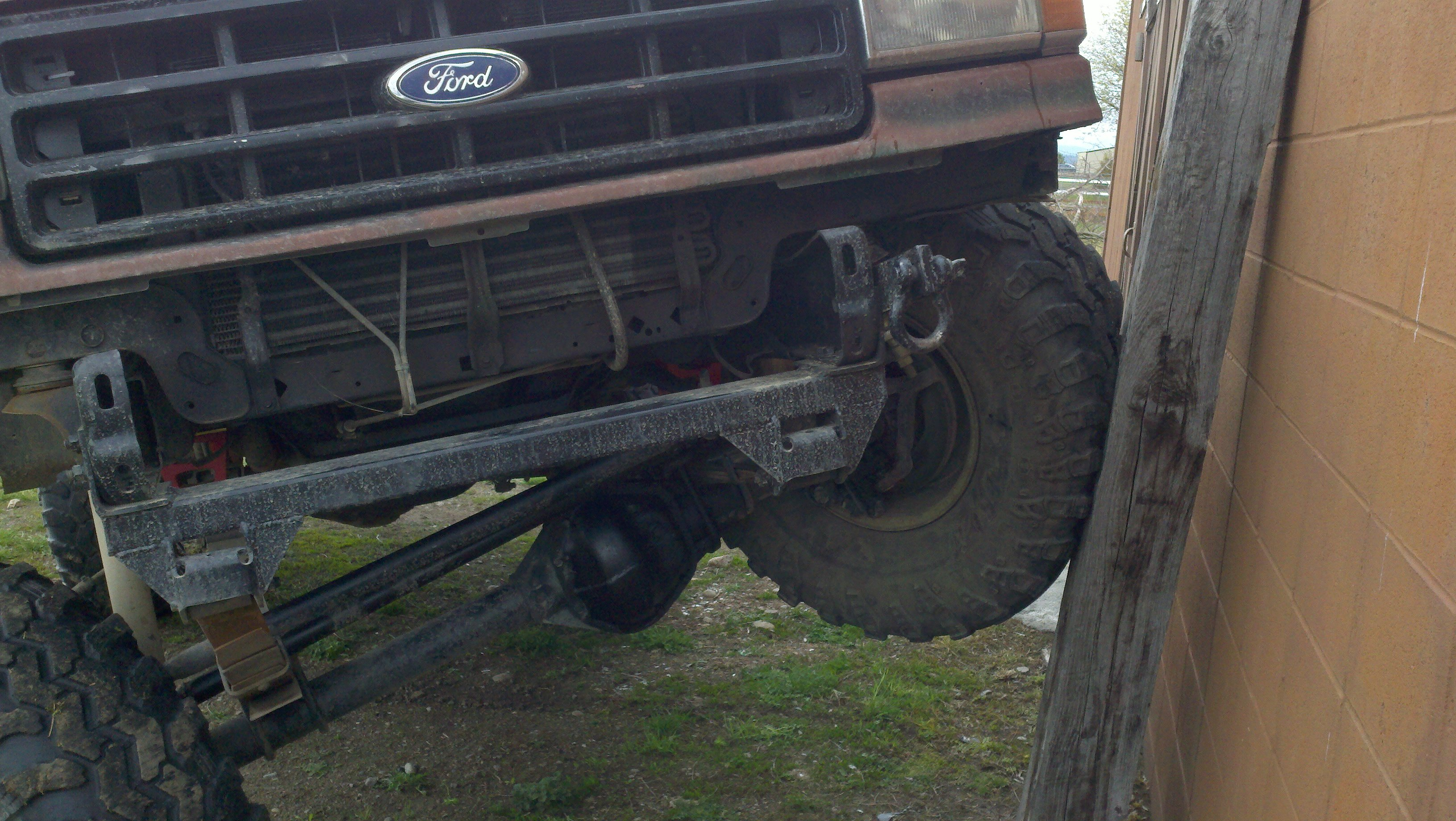 From 2wd To 4wd The Forums 1970 Ford F 350 4x4 Cant Be Any Worse Than Doing A Solid Axle Swap On Later Ttb And Tib Trucks