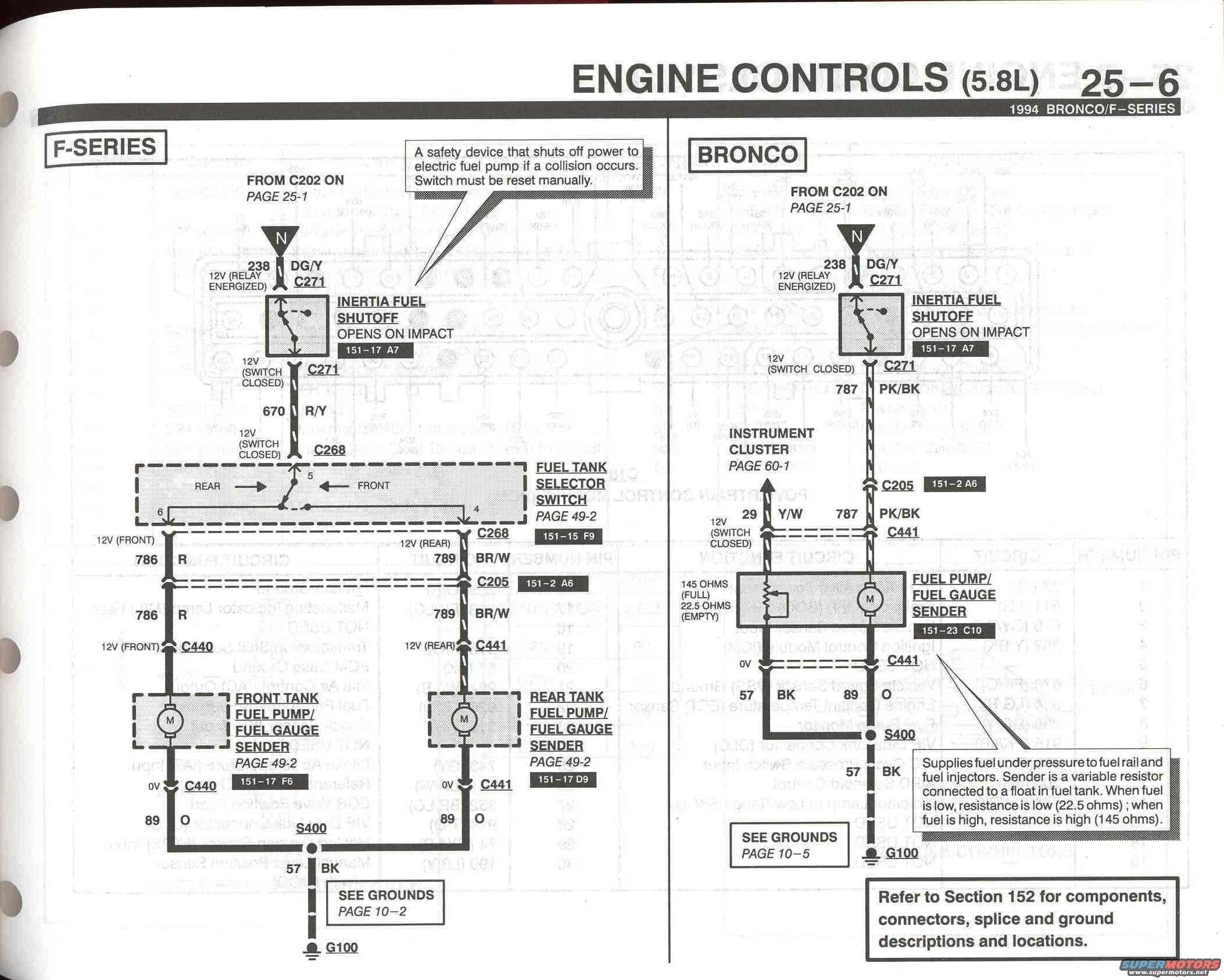 Kill switch question Ford Bronco Forum – Inertia Switch Wiring Diagram