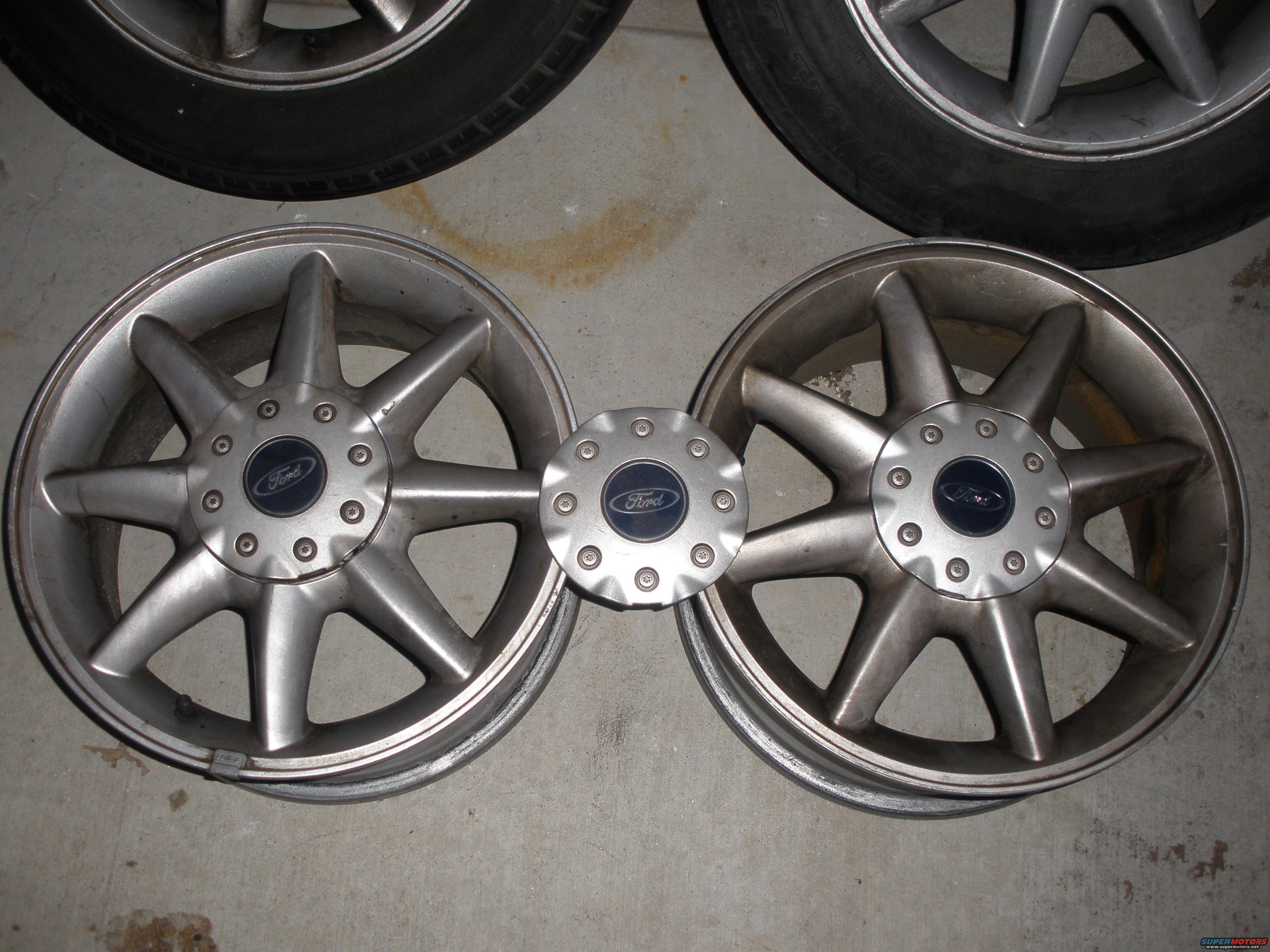 1998 Ford Contour Rims Picture