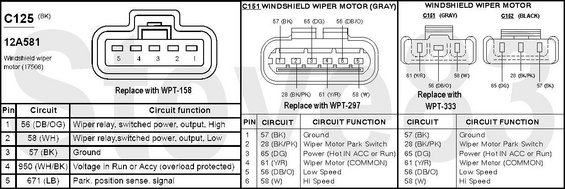wiper motor wiring 96 ford exploer 92 f150 wiper motor wiring diagram 92 wiring diagrams