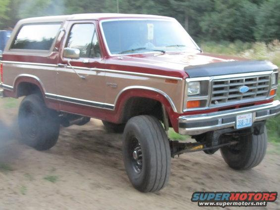 1984 Ford Bronco BRONCO diesel and SAS picture | SuperMotors.net
